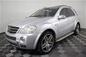 Unreserved 2007 Mercedes Benz ML63 Automatic Wagon
