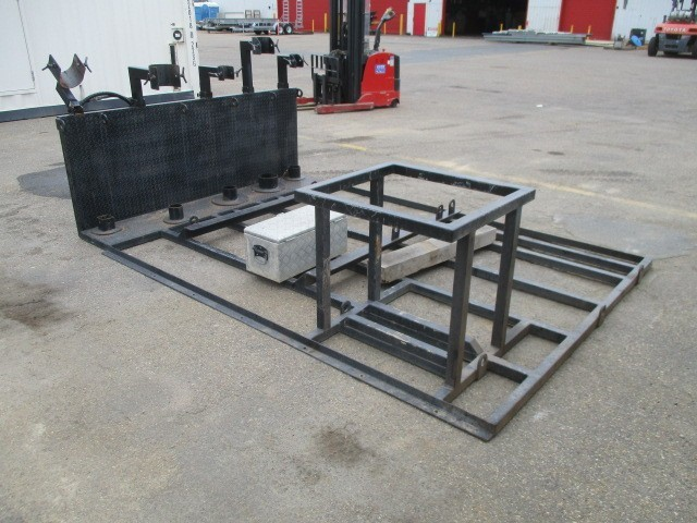 Machinery Attachment Mounting Rack