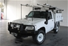 2012 Nissan Patrol DX Turbo Leaf Cab GU Turbo Diesel Manual Cab Chassis