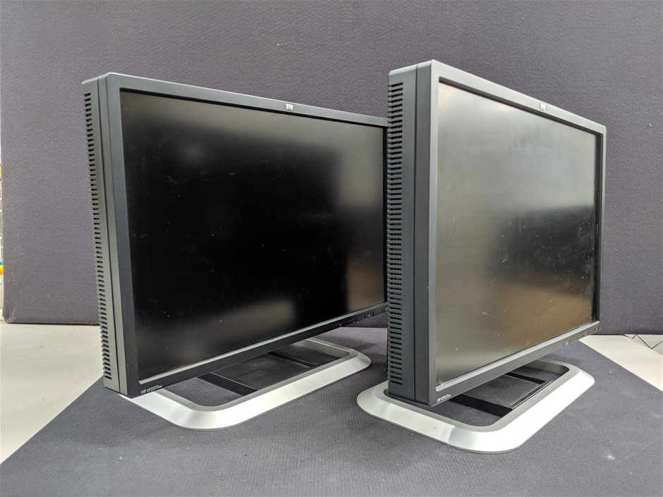 Qty 2 x HP LP2275w 22 Inch LCD Monitor