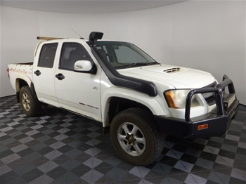 Unreserved 2011 Holden Colorado LXR 4WD Manual - 5 Speed Dual Cab Ute