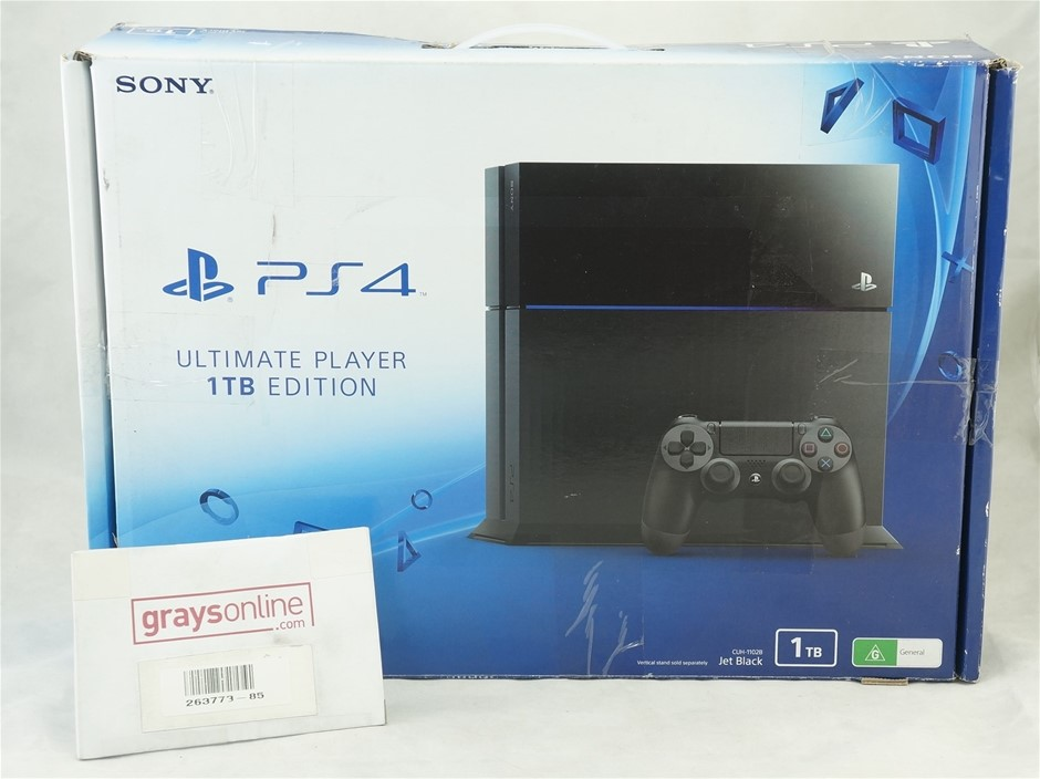Sony PS4 PlayStation 4 1TB Console