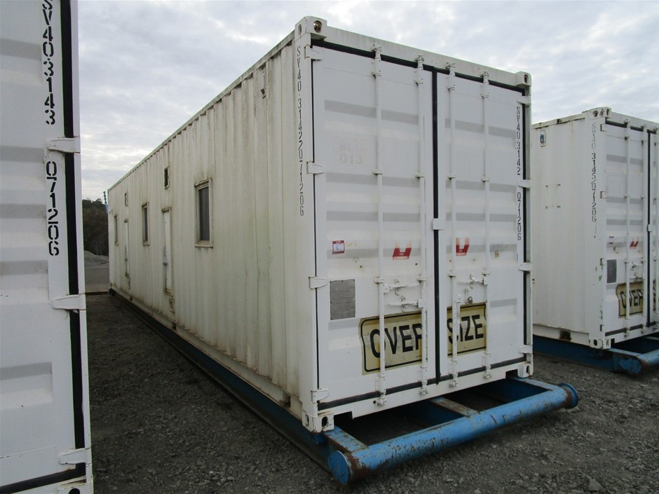 40ft Skid Mounted Demountable Building