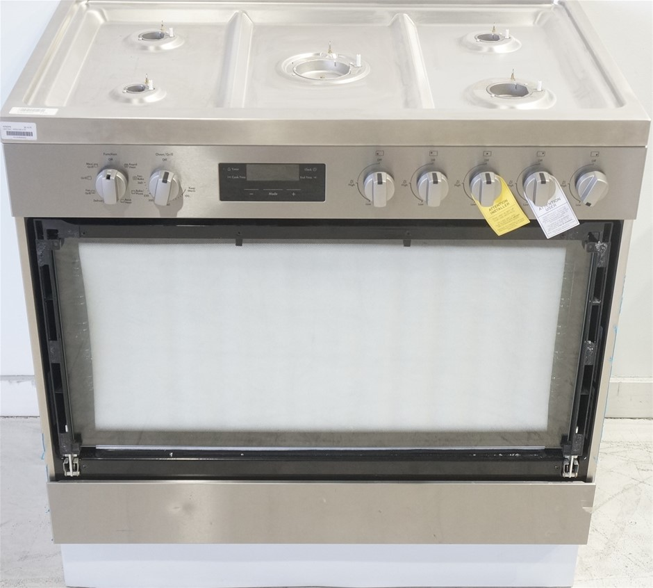 Westinghouse WFE914SB 90cm Freestanding Dual Fuel Oven/Stove