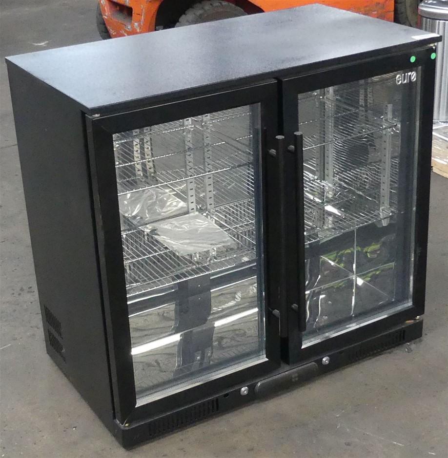 Euro Appliance EA900WFBL 208L Double Door Beverage Cooler