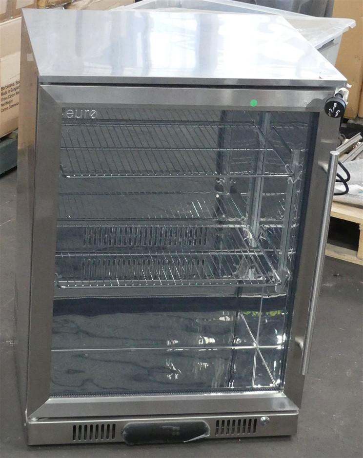 1x Euro Appliance EA60WFSX2L 138 litre Single Door Beverage Cooler
