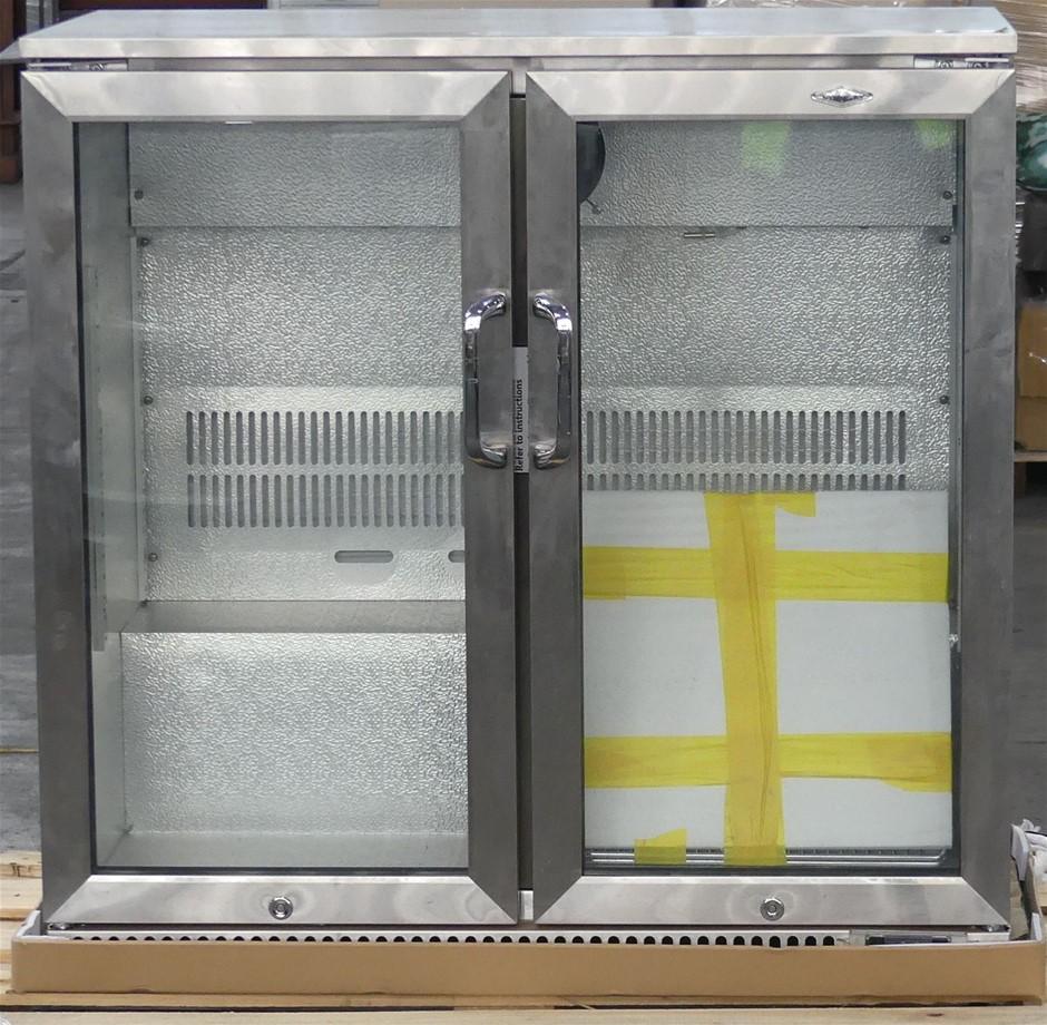 BeefEater BF2200 190 litre Double Door Bar Fridge