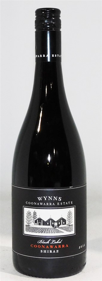 Wynns `Black Label` Shiraz 2012 (6x 750mL), Coonawarra