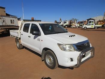 2010 Toyota Hilux 4x4 Dual Cab Utility