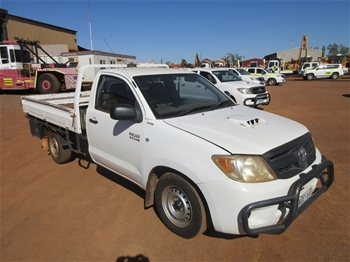 2010 Toyota Hilux 4x2 Single Cab Utility