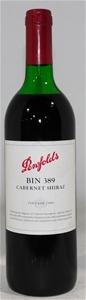 Penfolds `Bin 389` Shiraz Cabernet 1999