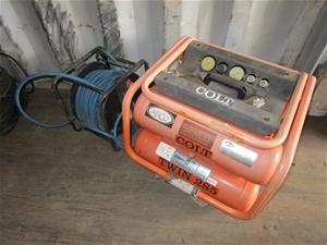 Colt Twin 285. 16L Air Compressor