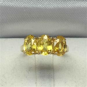 18ct Yellow gold, 3.0ct Yellow Sapphire