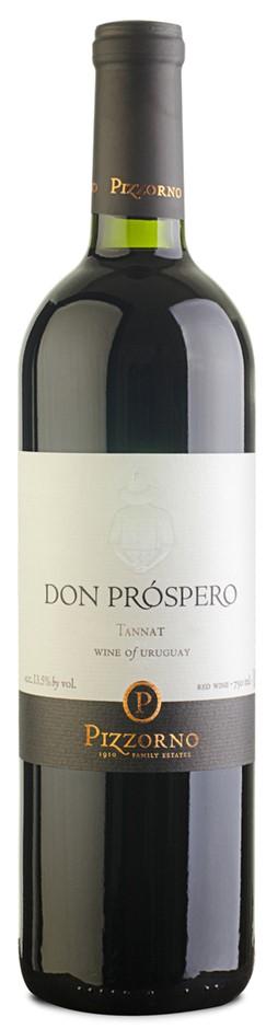 Pizzorno Don Próspero Tannat 2016 (12 x 750mL), Canelón Chico, Uruguay.