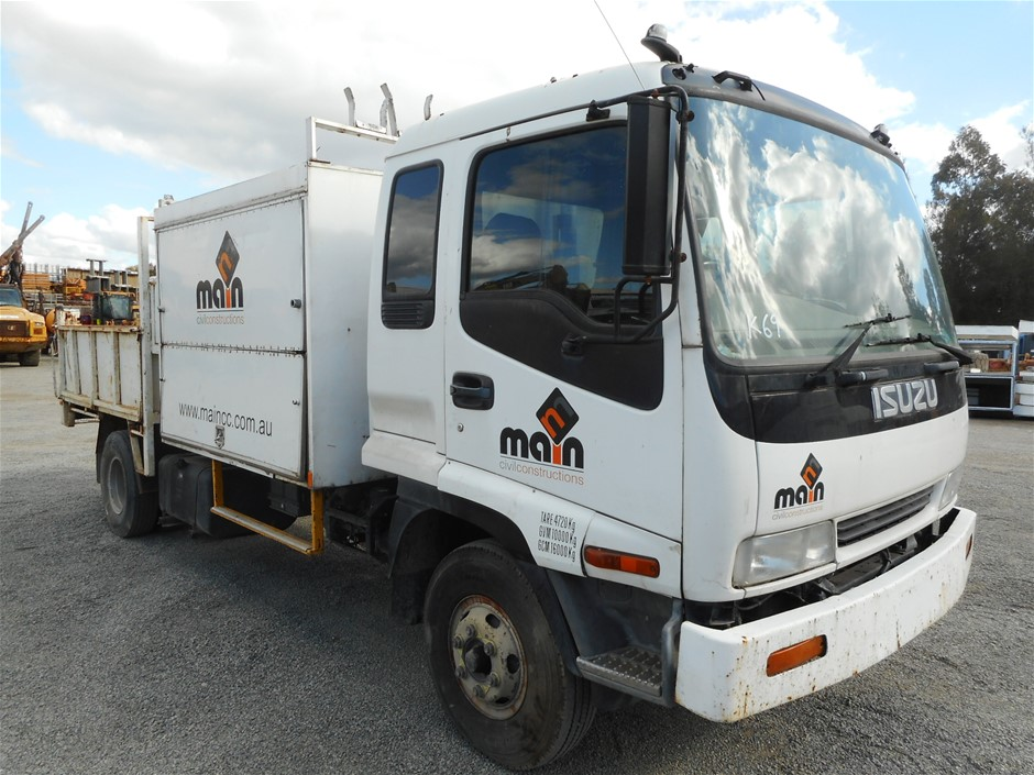 isuzu light trucks for sale - 7 products | Graysonline