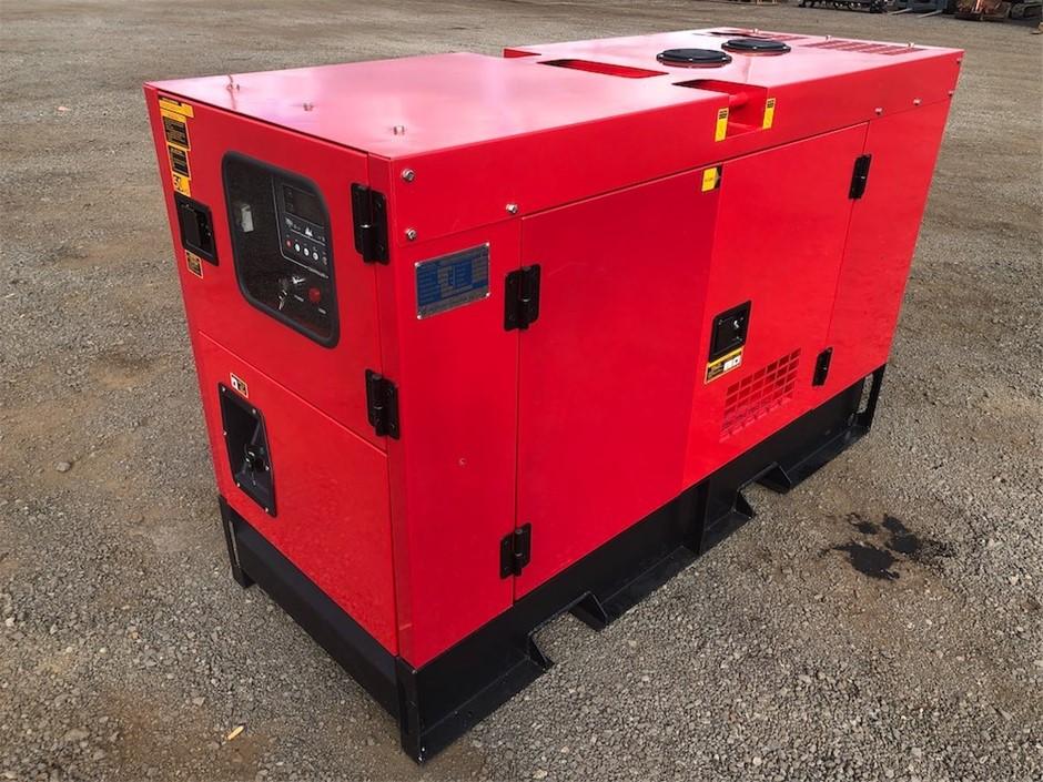 2019 Unused Silenced 25 kVA Generator