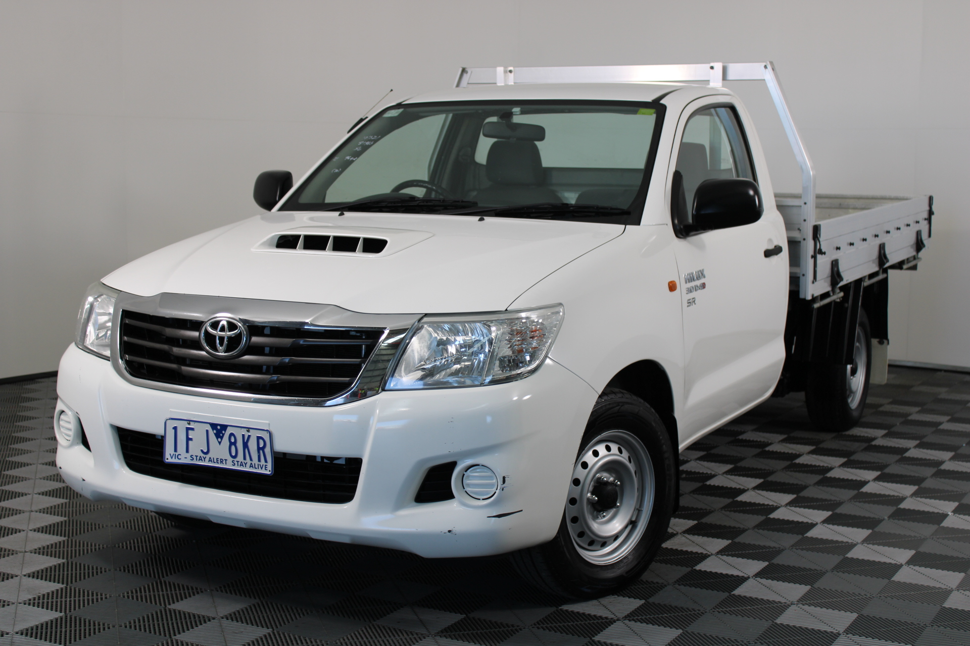 2015 Toyota Hilux SR KUN16R Turbo Diesel Manual Cab Chassis