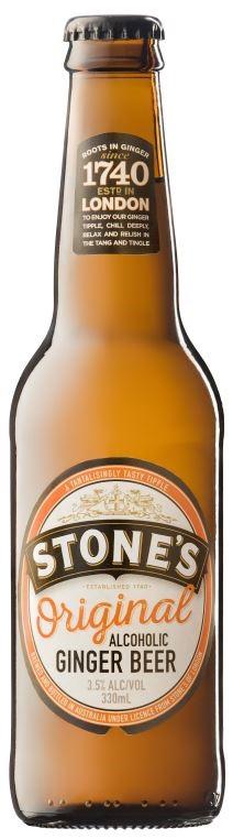 Stone's Original Ginger Beer (24 x 330mL) Australia