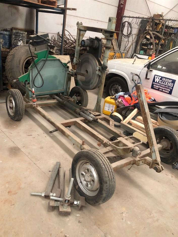 Spare Cart 630mm Hydraulic Rams