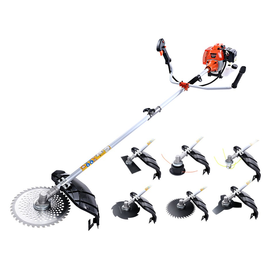 Giantz 62CC Pole Chainsaw Hedge Trimmer Cutter Whipper Snipper Multi Tool
