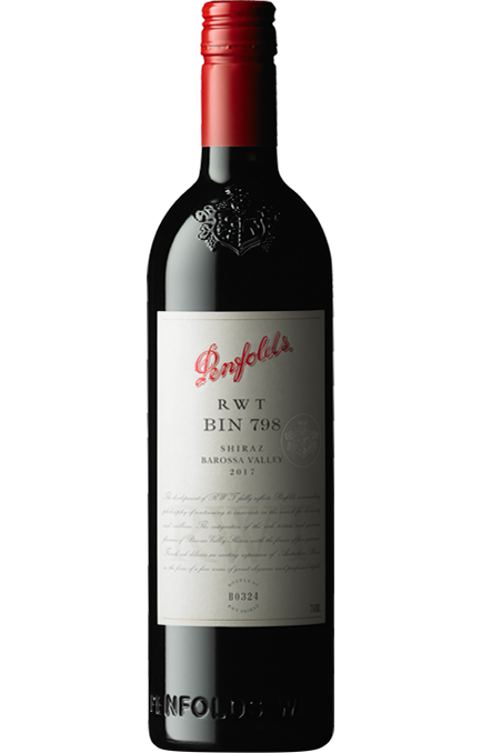 Penfolds RWT Bin 798 Barossa Valley Shiraz 2017 (6 x 750ml). SA