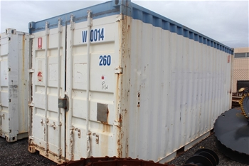 2x 20 Foot Shipping Containers