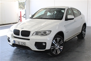 2012 BMW X6 xDrive 30d E71 LCI Turbo Die