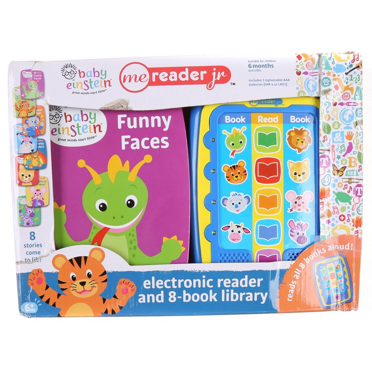 BABY EINSTEIN Electronic Reader & 8 Book Library. Buyers Note - Discount Fr