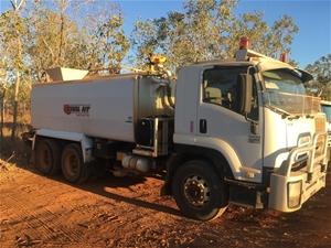 2009 Isuzu FVZ 1400 6 x 4 Water Truck
