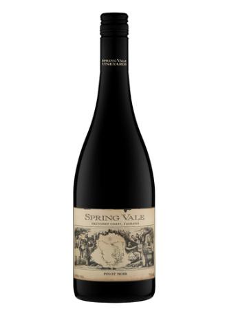 Spring Vale Pinot Noir 2017 (12 x 750mL), TAS.