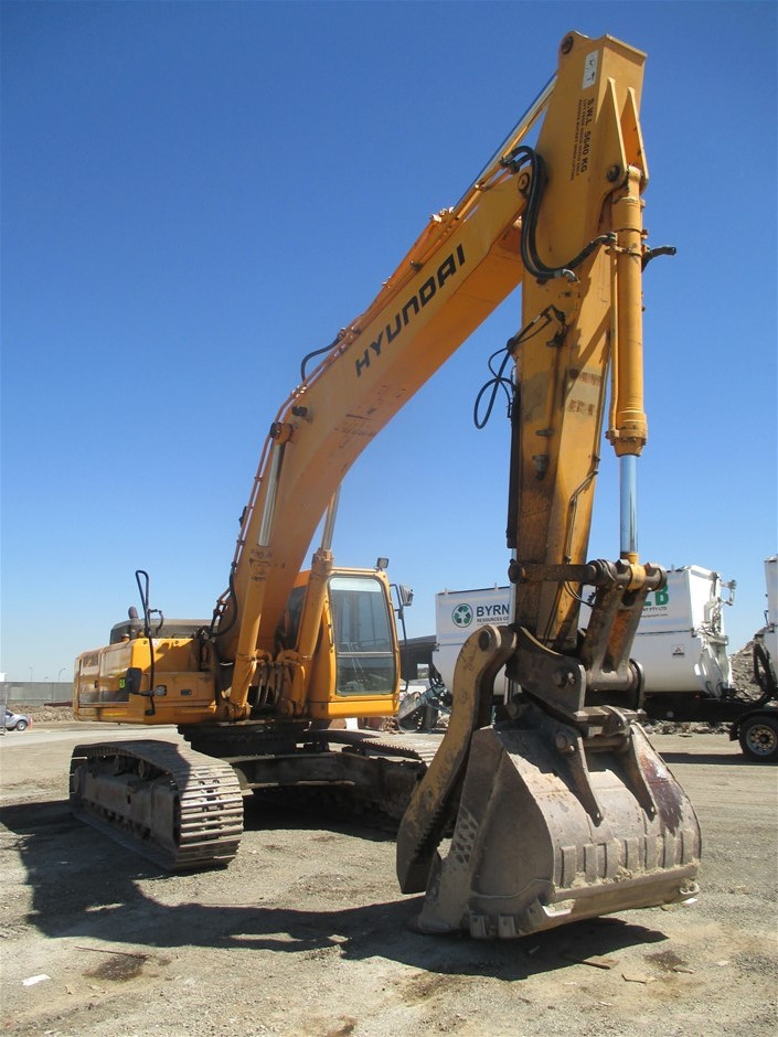 Hyundai Robex 450LC-7 Hydraulic Excavator