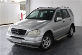 Unreserved 2001 Mercedes Benz ML 320 (4x4) W163 Auto 7 Seats
