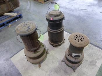 Qty 3 x Kerosine Heaters