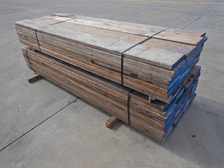 Qty of 2 Packs of Scaffolding Wooden Boards (Pooraka, SA)