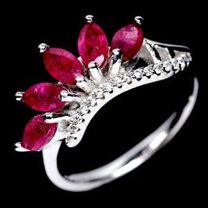 Beautiful Genuine Ruby Ring