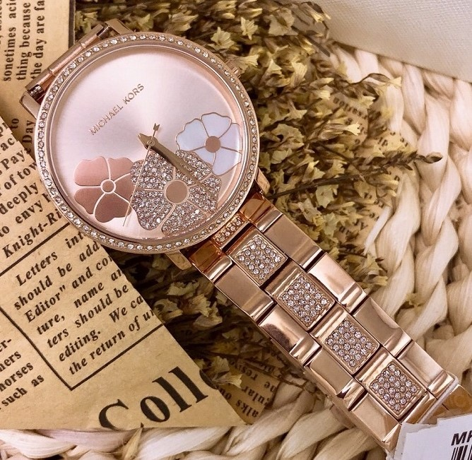 Ladies new decorative and feminine watch from Michael Kors Couture NY.