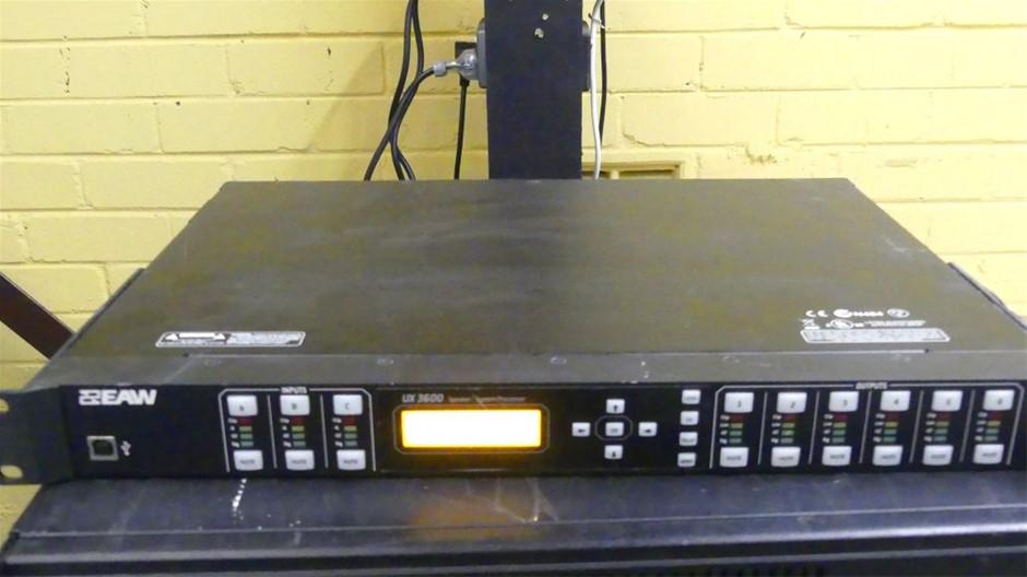 EAW UX3600 Digital Speaker Processor