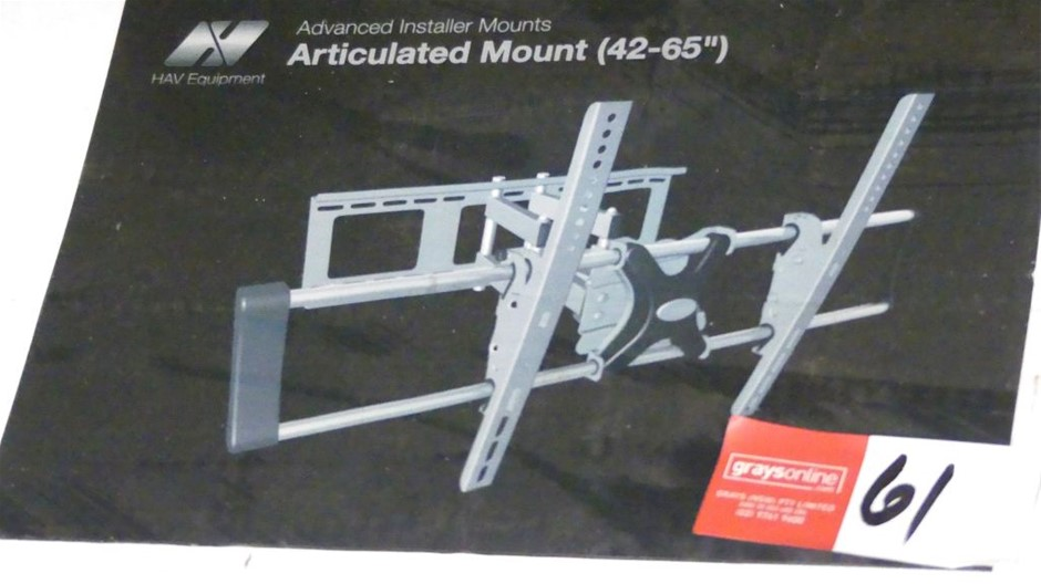 HAV Equipment Articulated Wall Bracket