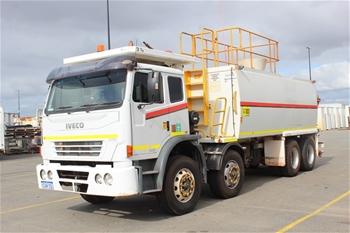 2010 Iveco ACCO E4 8x4 Water Truck