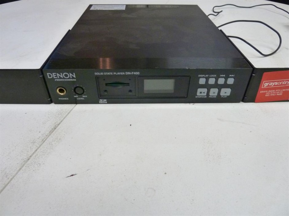 Denon Professional DNF400 Solid State Media Player