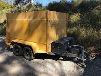 GIC Dual Axle Enclosed Trademan Trailer