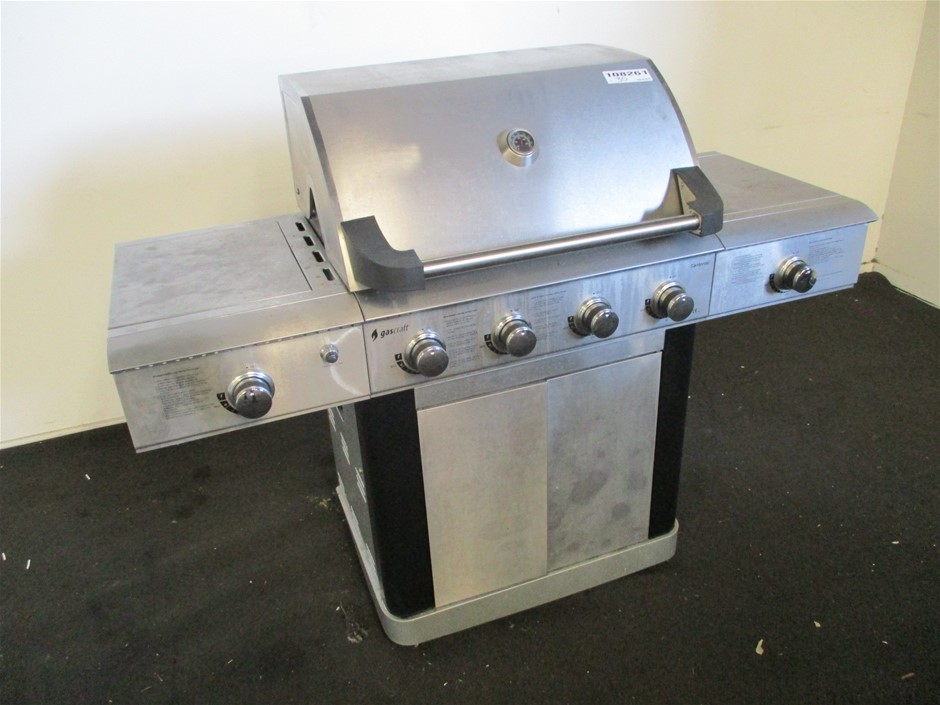 Gascraft Santorini SRGG41009 4 Burner BBQ with 2 Side Burners