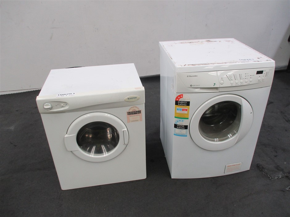 Electrolux Washing Machine & Simpson Dryer