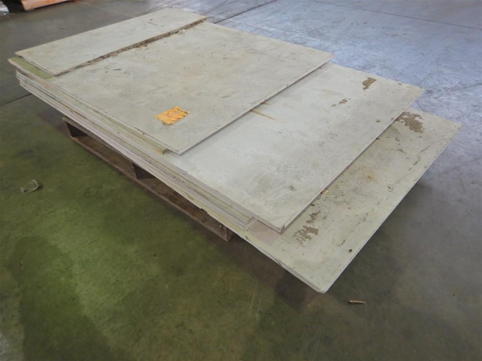 Qty Of Fibre Cement Sheeting (Pooraka, SA)