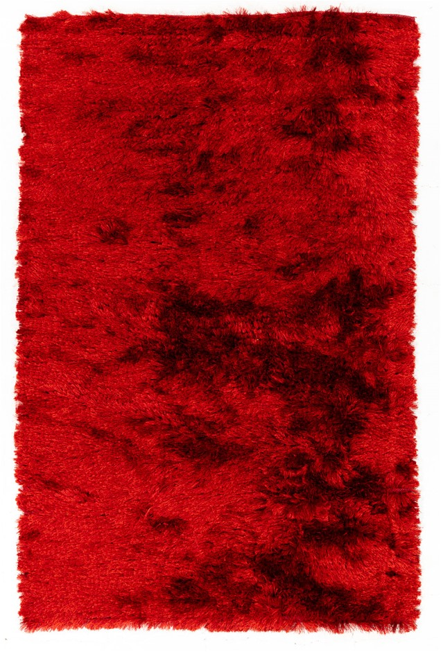 Pit Loomed Hand Knotted Shaggy Floor Rug Size (cm): 156 x 242