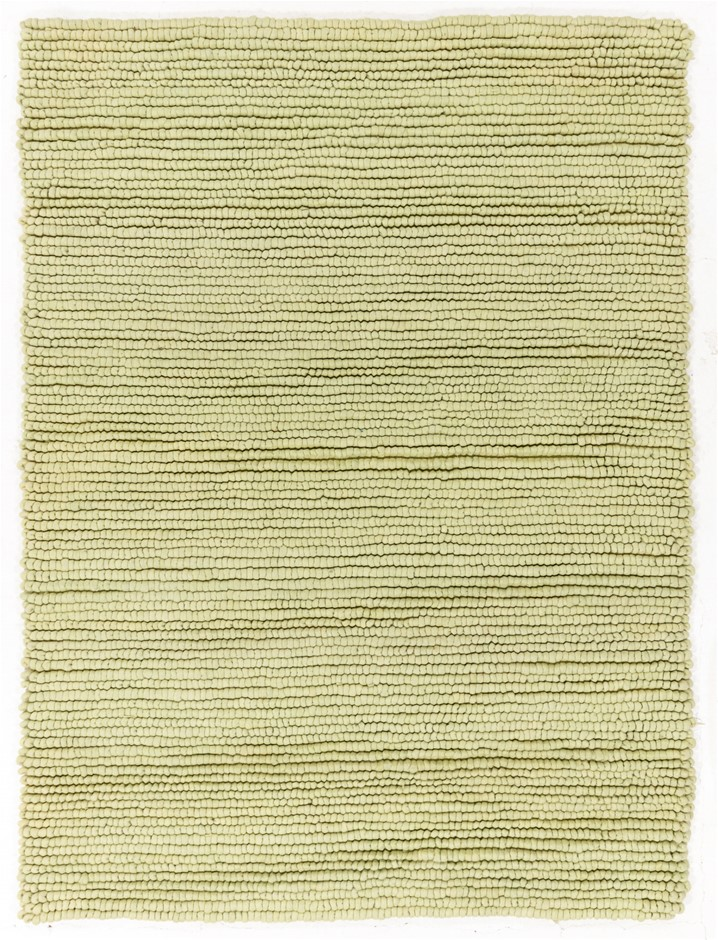 Pit Loomed Hand Knotted Shaggy Floor Rug Size (cm): 180 x 240