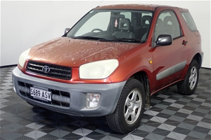 2000 Toyota Rav 4 Edge (4x4) Manual Wago