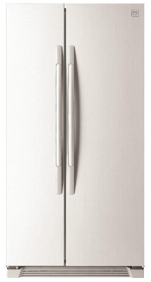 Daewoo FRS-U20ICW 618L Side by Side Fridge Gloss White