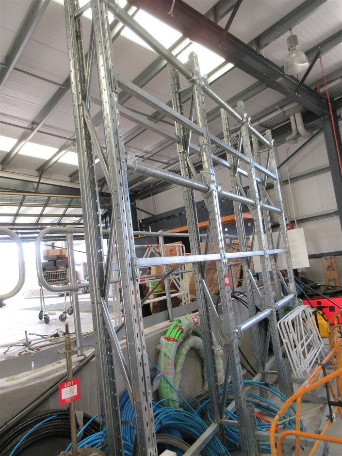 Pallet Racking System - Steel Construction
