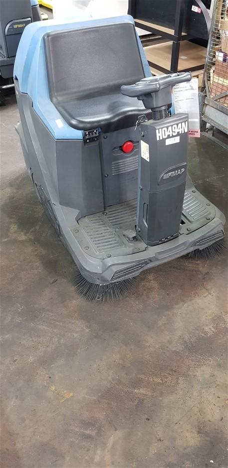 FIMAP FSR Electric Ride On Floor Sweeper